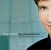 Lugansky plays Rachmaninoff Concertos 1 & 3; Click for more information.