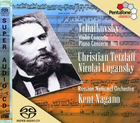 Performances by Tetzlaff,  Lugansky,  Nagano and the Russian National Orchestra